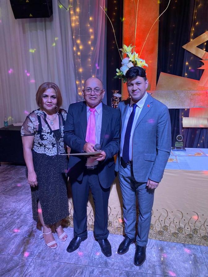 El Parlamento Cultural Intercontinental fue galardonado por el Premio Sol Formosa 2019