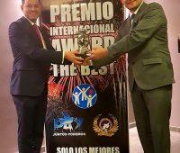 El Presidente del Parlamento Cultural Intercontinental fue galardonado con el Premio Internacional Award The Best 2019